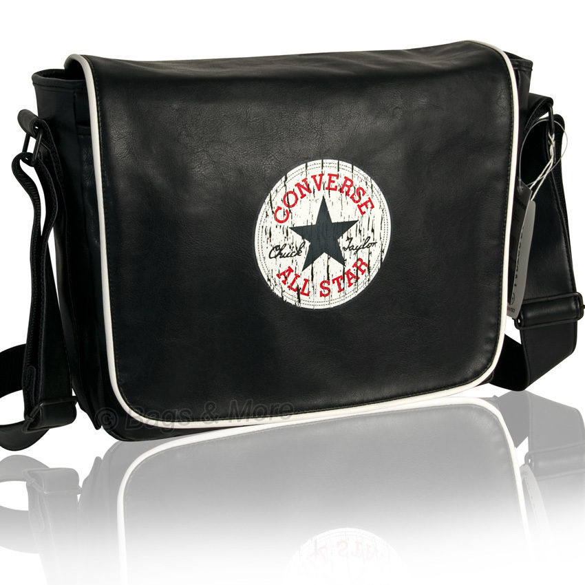 8c7e246e489e1 CONVERSE Umhängetasche SHOULDER FLAP Notebooktasche Laptop Tasche  Schultertasche Messenger Bag ...