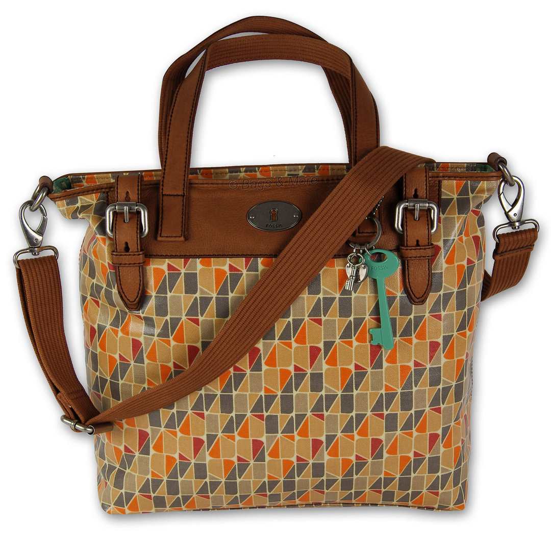 473a9e8824114 FOSSIL Handtasche KEY-PER TOTE Schultertasche Umhängetasche Henkeltasche Damen  Tasche Calypso ...