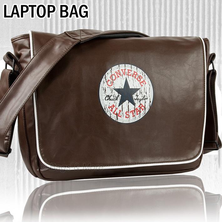 CONVERSE Umhängetasche SHOULDER FLAP Notebooktasche Laptop Tasche Schultertasche Messenger Bag
